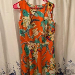 Floral Dressbarn Dress Sz 8